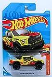 Hot Wheels 2018 50th Anniversary HW Hot Trucks '17 Ford F-150 Raptor 175/365, Yellow