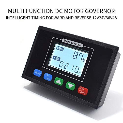 Souarts DC Motor Drehzahlregler 12V 24V 36V 48V 40A Stufenlose Drehzahlregelung Digitalanzeige Elektronischer Gouverneur Geschwindigkeit Einstellbare Stufenlose Regler