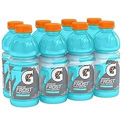 Gatorade Frost Glacier Freeze 20 Ounce Bottles, Pack of 8