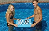 Water Sports Floating Multiple Game Chess Checkers Swimming Pool Board - Use in or Out of The Pool