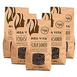 Meavita Meavita Bio Chia Semillas, Paquete De 5 (5 X 1000G) 5000 g