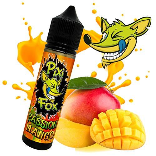 Liquido PASSION MANGO | SAPORE Mango tropicale dolce e naturale | PixiFox | 60 ml | Purezza 99,5% | Aroma Preparatto: Base 70/30 + Aromi Naturale | Sig Elettronica