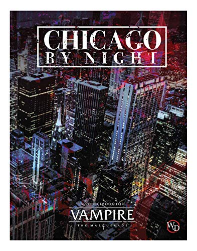 Modiphius Entertainment Vampire: The Masquerade 5th Edition: Chicago by Night