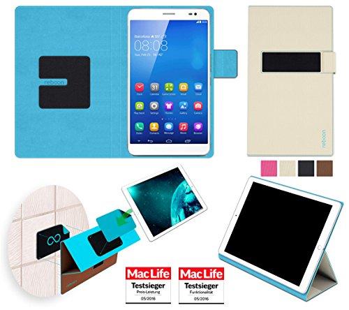 Hülle für Huawei MediaPad X1 7.0 Tasche Cover Hülle Bumper | in Beige | Testsieger