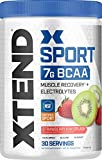 XTEND Sport BCAA Powder Strawberry Kiwi Splash | Electrolyte Powder for Recovery & Hydration with Amino Acids | 30 Servings