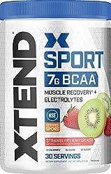 XTEND Sport BCAA Powder Strawberry Kiwi Splash | Electrolyte Powder for Recovery & Hydration with Am