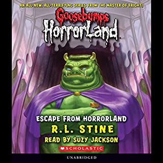 Escape from Horrorland audiobook cover art