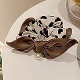 sdfae Corbatas para el pelo cinta arco cuerda de pelo elástico bandas de cinta arco banda para el pelo cuerda corbata pelo coleta titular accesorios para el cabello