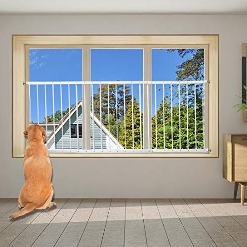 Fairy Baby Window Guards for Children, Adjustable Wide Child Safety Window Guard Prevents Accidental Falls, Home Security Childproof Interior Bar Guard for Windows Wide 36.22' - 61.41'(2 Panels)