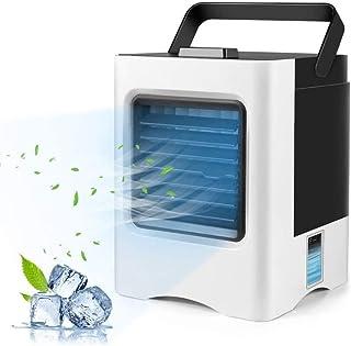 comprar comparacion Aire Acondicionado Portátil, batería recargable Purificador Enfriador de Aire mini Air Cooler acondicionado/humidificador/...