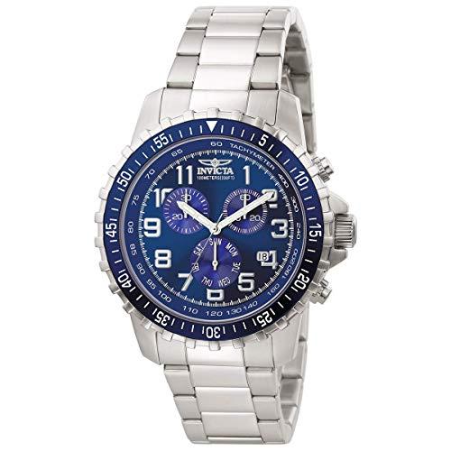 Invicta 6621 Specialty Reloj para Hombre acero inoxidable Cuarzo Esfera azul