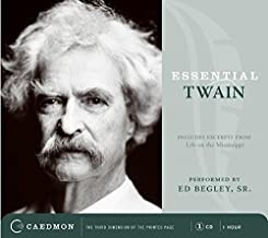 Essential Twain CD: Excerpts from Life on the Mississippi:The Boy's Ambition & Speculations and Confusion (Caedmon Essentials)