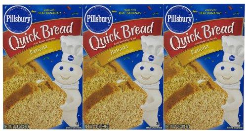 Pillsbury Quick Bread Banana Mix - 14 oz - 3 pk