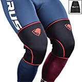 7mm Knee Sleeves: Knee Compression Sleeves for Powerlifting, Squats, Bodybuilding, Weightlifting – Superior Support and Range of Motion – Knee Sleeves for Men and Women - by Impulse Sportz