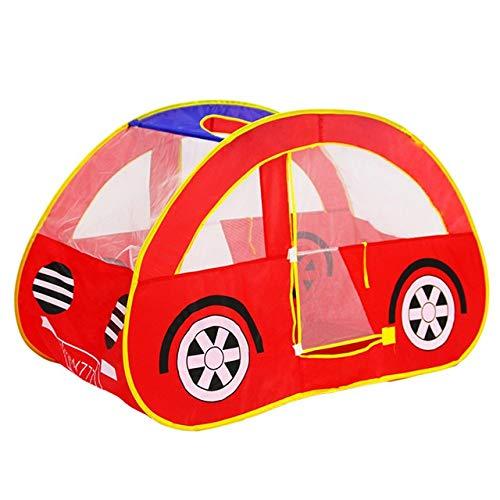 Yqs Kinderzelt Play House Auto-Form Falten Freie Spiel-Zelt Gartenspielhaus for Kinder Kinder Spielzeug-Zelt Garten Spielhaus (Color : Undefined)