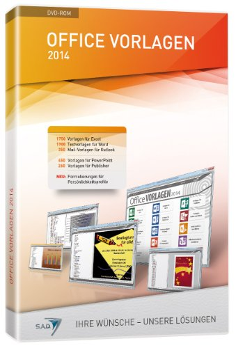 Office Vorlagen 2014 [import allemand]