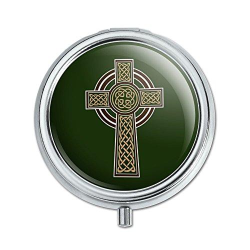 Celtic Christian Cross Irish Ireland Pill Case Trinket Gift Box
