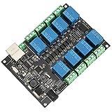 Qinlorgo Relais réseau Accessoires industriels Carte contrôleur programmable, Carte de Commande, Module de Commande NC-1000 pour télécommande WiFi Industrielle