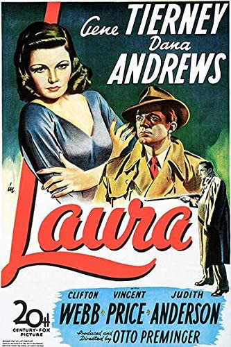 Amazon.com: Laura - 1944 - Movie Poster: Posters & Prints