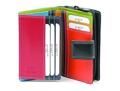 Damen Geldbörse & Portemonnaie aus echtem Leder hergestellt von Golunski®: