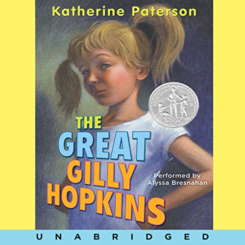 The Great Gilly Hopkins audiobook cover art
