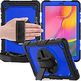 SIZOO - Tablets & e-Books Case - 2 Pcs Case for for Samsung Tab A 10.1 SM-T510/T515 T510 2019 Heavy Duty Rugged Shockproof...
