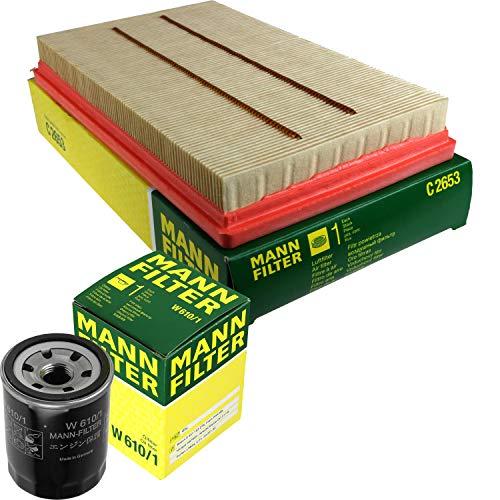 MANN-FILTER Inspektions Set Inspektionspaket Luftfilter Ölfilter