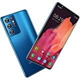 Unlocked Smartphones, Triple Card Slots Cell Phones, 5.8' Full-Screen Dual SIM Phones, 5000mAh Big Battery, Global 5G Bands