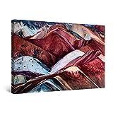 Startonight Cuadro Moderno en Lienzo para Salon Montañas en Marte, Pintura Naturaleza Decoración Grande 80 x 120 cm