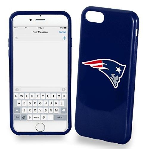 FOCO NFL New England Patriots Solid Ai7/8 Hülle – TPU 11,9 cm (4,7 Zoll) Bildschirm