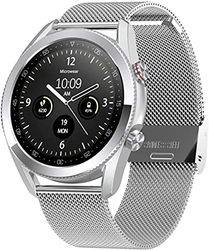 Reloj inteligente de los hombres L19 Bluetooth Smartwatch DIY dials Super larga vida de la batería reloj inteligente para Android IOS PK L13 DT95 GT2-F