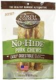 Earth Animal No-Hide Humanely-Raised Pork Medium Natural Rawhide Alternative Dog Chews, 2-Count
