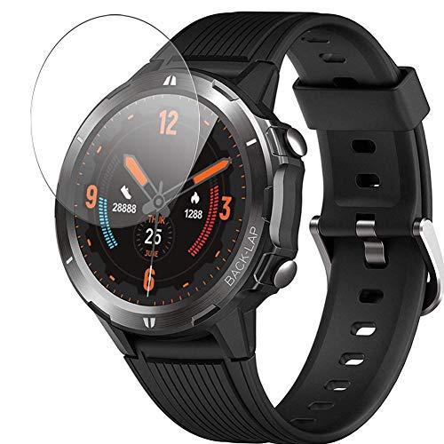 Vaxson Protector de Pantalla de Cristal Templado, compatible con LATEC ID216 Smart Watch, 3 Unidades 9H Film Screen Protector
