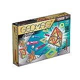 Geomag - Classic Glitter 533, Constructions Magnétiques et Jeux Educatifs, GM203, Multicolore, 68 Pièces