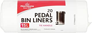 Morrisons Pedal Bin Liners Pack, Pack of 20