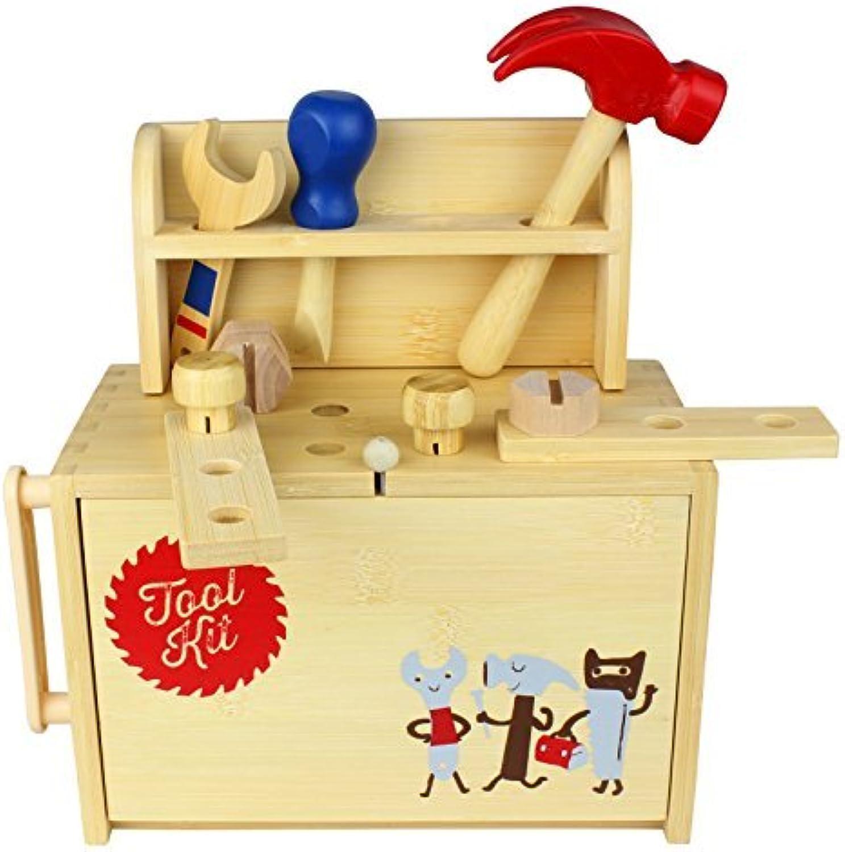 Diggin Bamboo Box Tool Kit by Diggin