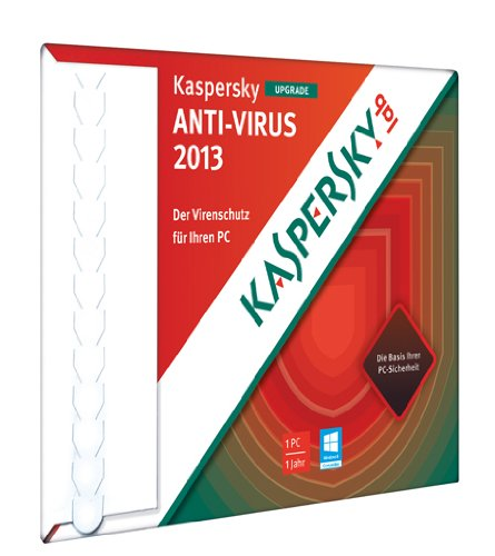 Kaspersky Antivirus 2013 Upgrade [import allemand]