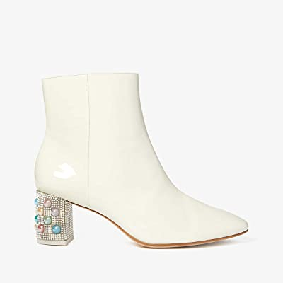 Sophia Webster Toni Mid Ankle Boot (Winter White/Pearl) Women
