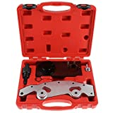 SCITOO Fit BMW M52TU/M54/M56 Double Vanos Twin Camshaft Alignment Timing Locking Tool Kit Chain Tensioner Lock Pin Sprocket Assembly Jig