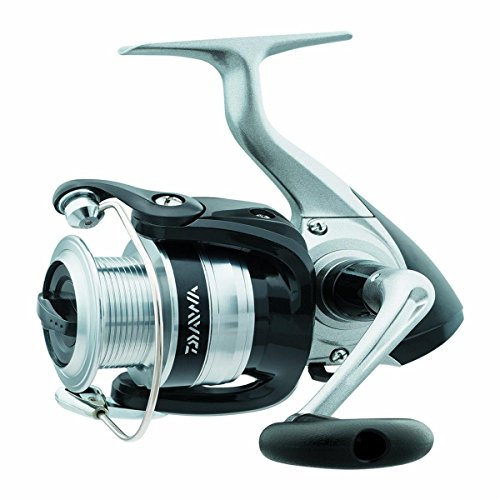Daiwa SF4000-B-CP Strikeforce Test Front Drag Spinning Angelrolle, 10-14 lb, Silber