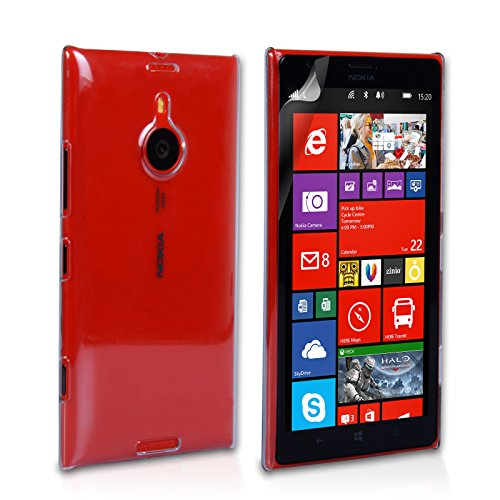 Gioiabazar Crystal Clear Transparent Hard Back Case Cover for Nokia Lumia 1520