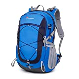 Mountaintop 40L Hiking Backpack for Outdoor Camping with Rain Cover