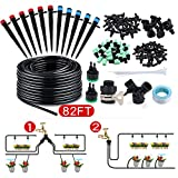 king do way 82Ft/25M Drip Irrigation Kits Garden Watering System with...