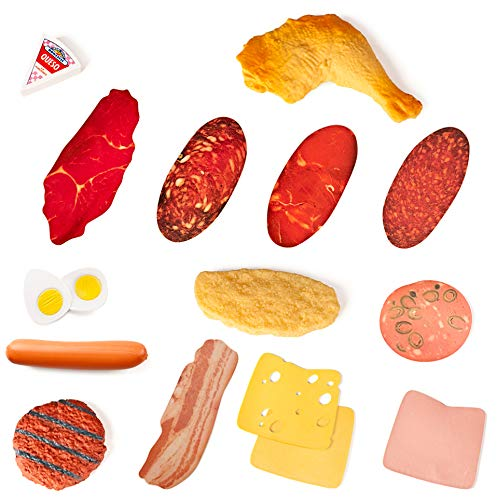 Miniland Delicatessen Assortment - 16 Pieces/ Polybag by