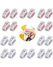 20 stuks hoge elasticiteit dekbedovertrek, dekbedovertrekken bedlaken grijpers clip, antislip klem zonder naald, voorkomen bunsen en verschuiven dekbedovertrekken, voor thuis, slaapkamer, lakens, gordijnen, sokken