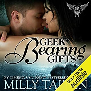 Geek Bearing Gifts audiobook cover art
