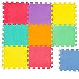 La Bolata 9 Placas Alfombras Puzzle EVA para Bebé y Niños 30x30 CM