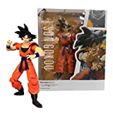 Qwead 15Cm Dragon Ball Z Earth Youngster Goku Figurines Black Hair Sun Goku PVC Figura De Acción DBZ...