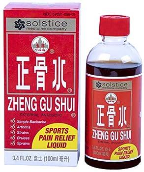 Zheng Gu Shui External Analgesic Relief of Muscle Joint Back Pains  3.4 Fl Oz   1 Bottle