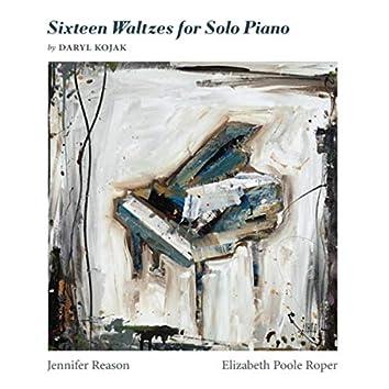 Daryl Kojak: Sixteen Waltzes for Piano